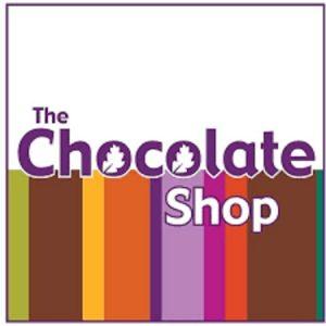 The Chocolate Shop logo.