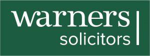 Warners Solicitors logo.