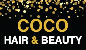 Coco Hair & Beauty logo.