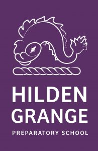 Hilden Grange School logo.