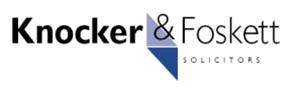 Knocker & Foskett Solicitors logo.