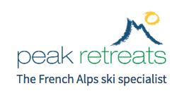 Peak Retreats logo.