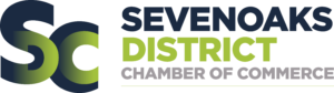 The Sevenoaks and District Chamber of Commerce logo.