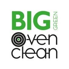 Big Green Oven Clean logo.